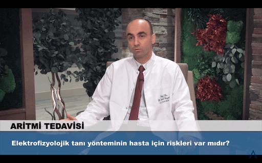 Elektrofizyolojik tanı yönteminin hasta için riskleri var mıdır?